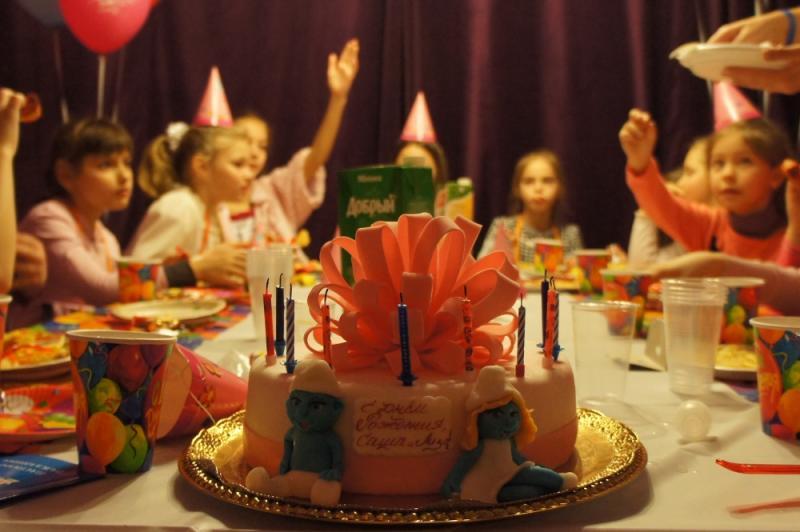 Детский День Рождения!