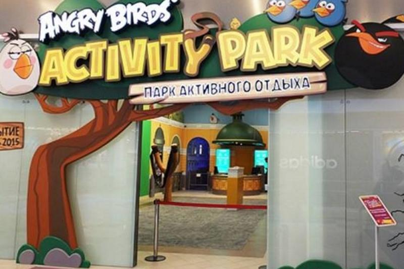 Angry Birds Activity Park, парк активного отдыха в ТРК Европолис
