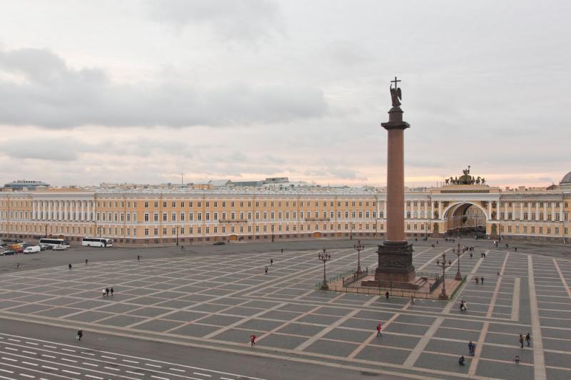 Крыша Главного штаба Эрмитажа, смотровая площадка (в проекте)