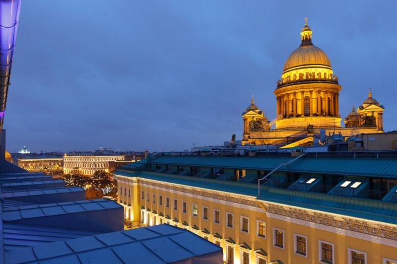 W Terrace, ресторан в отеле W St. Petersburg
