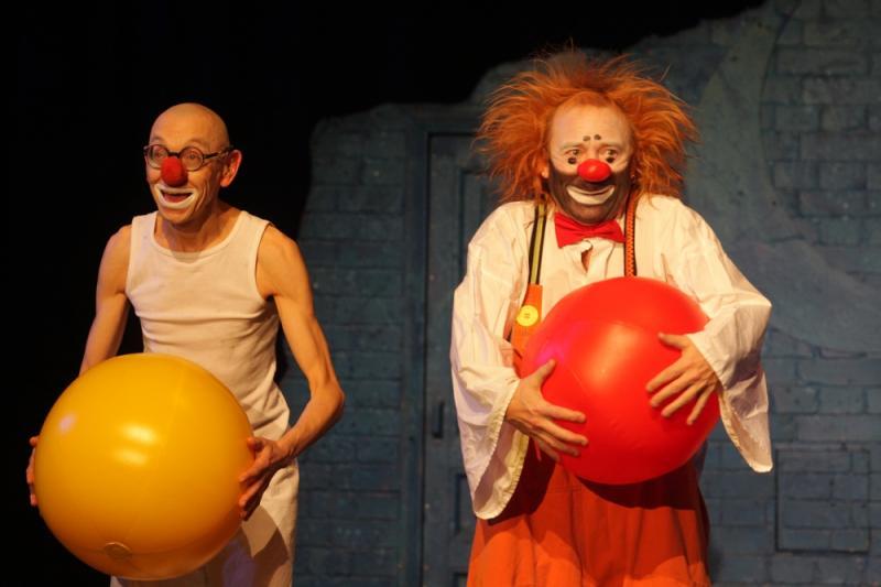 Лицедеи, театр клоунады