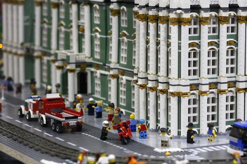 GameBrick, музей-выставка моделей из кубиков LEGO в КП Ткачи